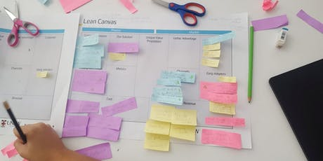 Lean Canvas for Coach and Connect tickets