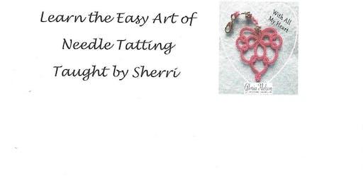 Learn the Art of Needle Tatting 101