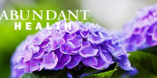"""Living a Life of Abundant Health"""