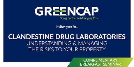 Clandestine Drug Laboratories tickets