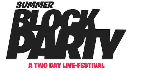 Simon's Arcade Summer Block Party tickets