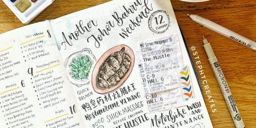 Journaling Festival 2019: Workshop - Getting Started With Bullet Journal 2 by Stephanie Tan