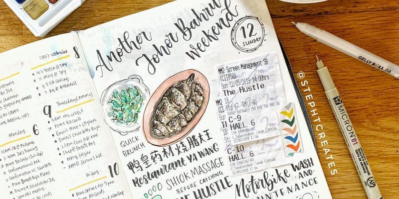 Workshop – Getting Started with Bullet Journal® by Stephtcreates II