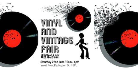 Vinyl & Vintage Record Fair tickets