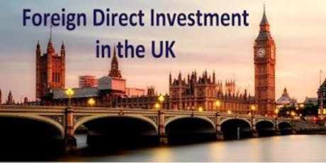 MWKA Public Series Lunch Talk- Foreign Direct Investment in the UK tickets
