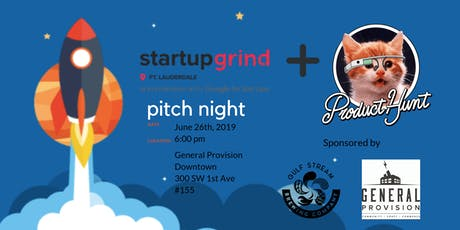Product Hunt South Florida Pitch Night (Pitch & Sips) tickets