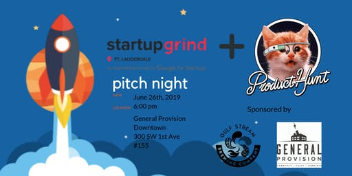 Product Hunt South Florida Pitch Night (Pitch & Sips)