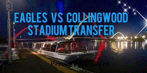 Eagles Vs Colingwood Stadium Party Transfer