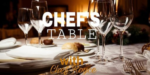 Exclusive Chef's Table Experience