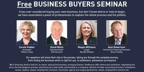 Free Business Buyers Seminar tickets