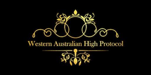 Western Australian High Protocol pioneer dinner