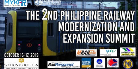 The 2nd Philippine Railway Modernization and Expansion Summit tickets