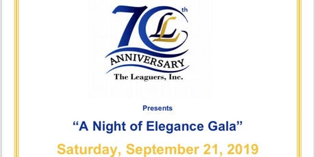 "The Leaguers Inc: ""A Night of Elegance Gala"" tickets"