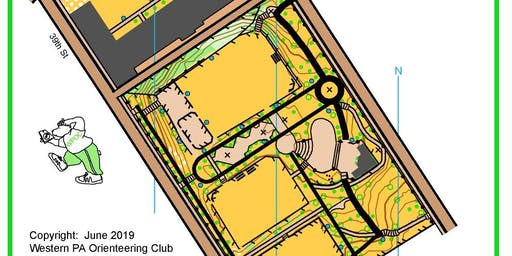 Map Orienteering in Arsenal Park (Lawrenceville)