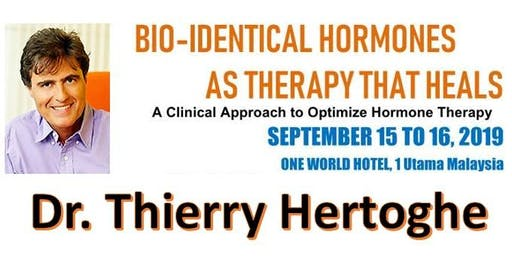 BIO-IDENTICAL HORMONES AS THERAPY THAT HEALS