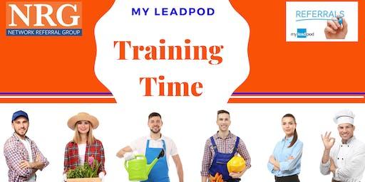 MyLeadPod Beginners Training South