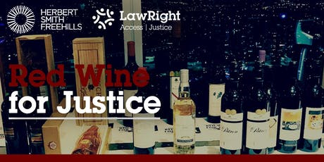 Red Wine for Justice tickets