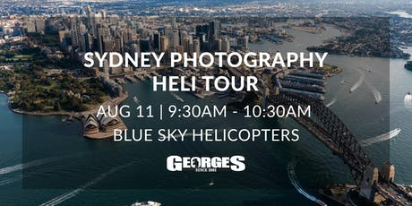Sydney Photography Heli Tour (Georges Cameras) tickets