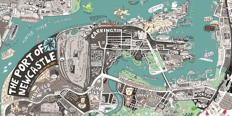 Streets of our town exhibition: Map making with Liz Anelli - Newcastle Library - Newcastle Libraries tickets
