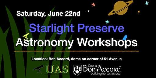 Starlight Preserve: Astronomy Workshop
