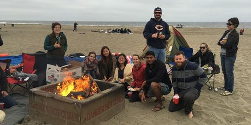 Bonfire Beach Party with Games & Potluck! [Ocean beach]