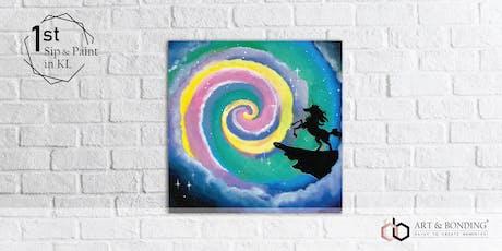 Sip & Paint Night : Rainbow Unicorn tickets