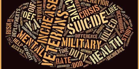 Veteran Mental Health First Aid Training tickets