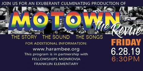 Harambee's Performing Arts Motown: The Revue Production tickets