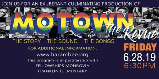 Harambee's Performing Arts Motown: The Revue Production