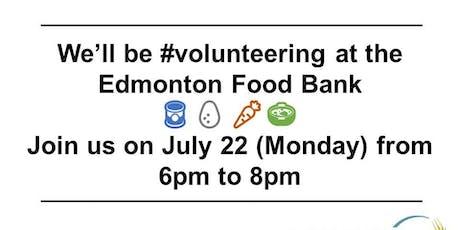 Giving Back at the Edmonton Foodbank with JCI Edmonton tickets