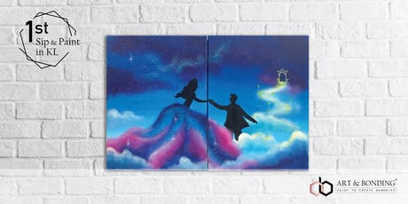Sip & Paint Date Night (For Couple/BFF/Family) : Dancing in the Galaxy Sky tickets
