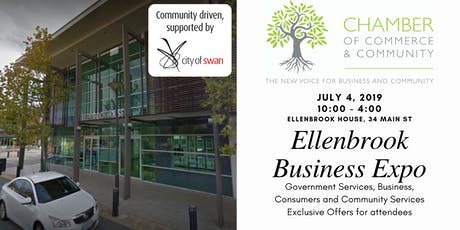 Ellenbrook Business Expo with the Chamber of Commerce And Community - Attendance Registration tickets