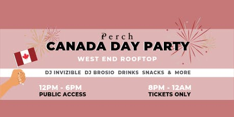 Perch Canada Day Party tickets