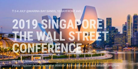 The Wall Street Conference Singapore 2019, Digital Currency Symposium tickets