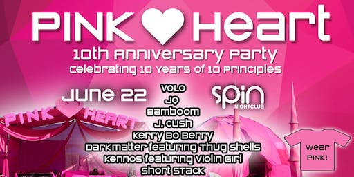 Pink Heart 10th Anniversary Party!