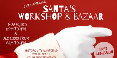 2nd Annual Santa's Workshop & Bazaar