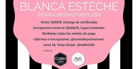 Curso Intensivo de Manicure con Blanca Esteche entradas