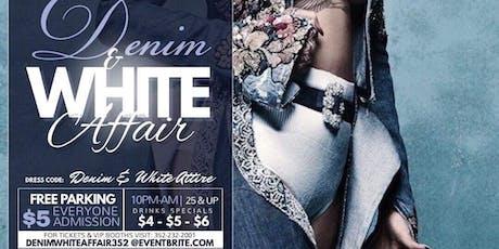 The Denim & White Affair tickets