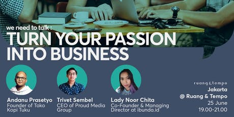 Turn Your Pain and Passion Into Business tickets