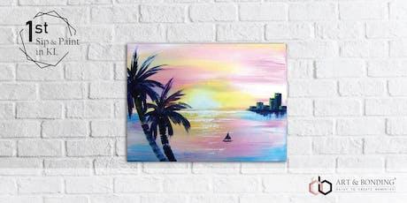 Sip & Paint Night : Pink Sunset tickets