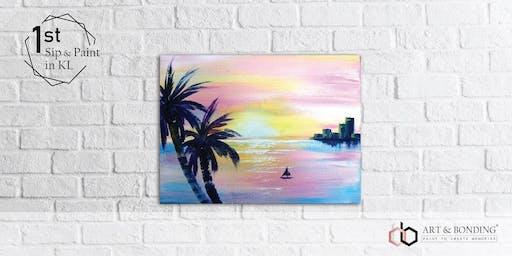 Sip & Paint Night : Pink Sunset