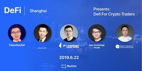 Copy of DeFi China- #DeFi For Crypto Trades tickets