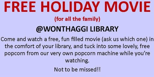 Kids Holiday Movie @ Wonthaggi Library