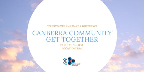 Community Shapers' Canberra Get Together tickets