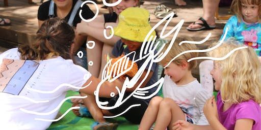 Little Fish with Left Lane Outreach Theatre (Ages 3-7) (Tuggeranong Library)