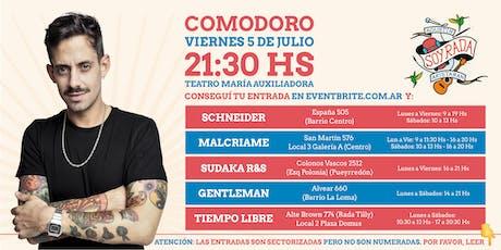 SOY RADA SHOW  en COMODORO RIVADAVIA entradas