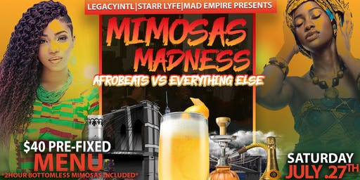 MIMOSAS MADDNESS: Afrobeats vs Everything