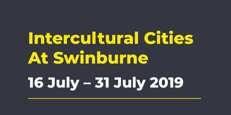 Intercultural Cities  tickets