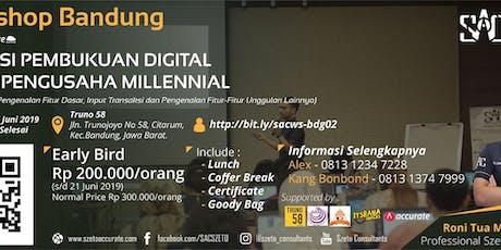 "Pendaftaran Workshop ""Aplikasi Pembukuan Digital Untuk Pengusaha Millennial tickets"