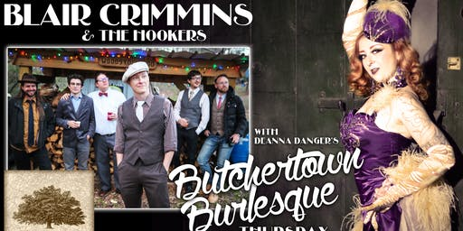 Blair Crimmins & the Hookers w/ Butchertown Burlesque (General Admission)